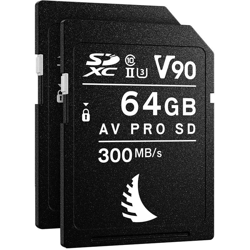Angelbird Match Pack for Fujifilm X-T3 | X-T4 64GB V90