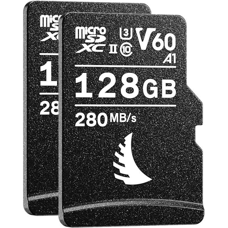Angelbird AV Pro microSD 128GB V60   2 Pack
