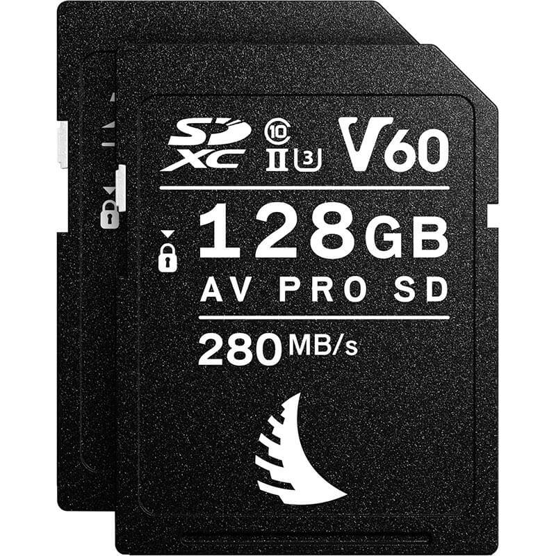 Angelbird AV Pro SD MK2 128GB V60 | 2 Pack