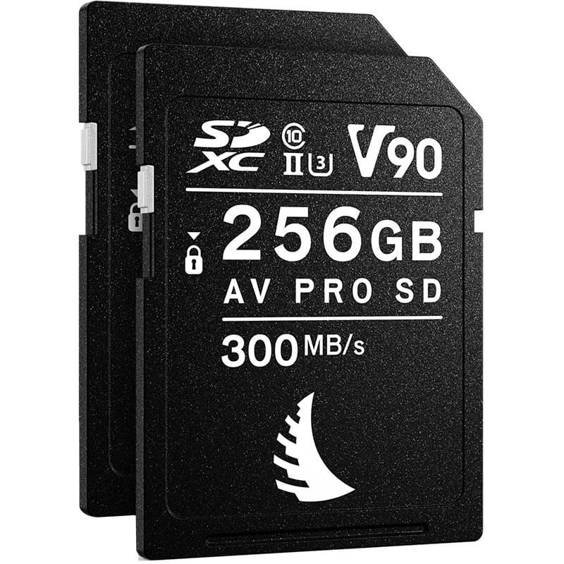 Angelbird AV Pro SD MK2 256GB V90 | 2 Pack