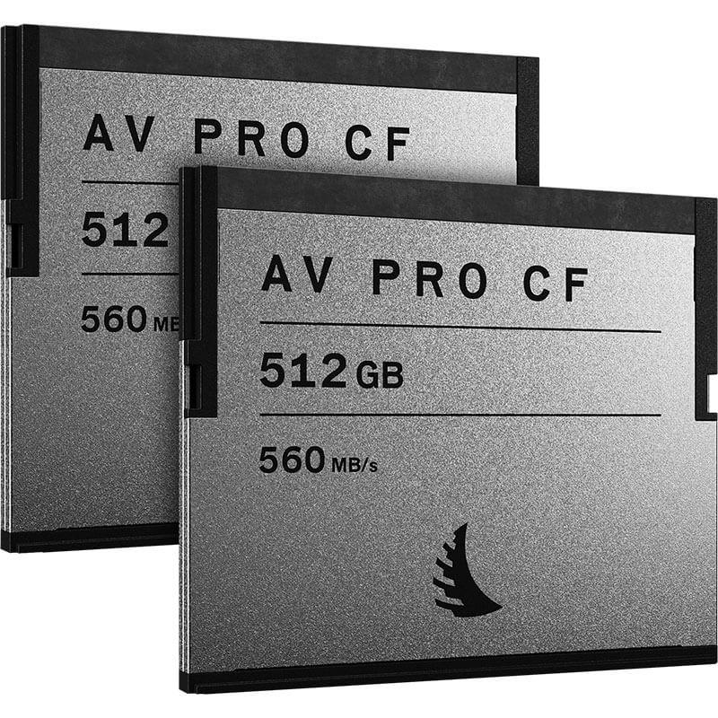 Angelbird AV Pro CF 512GB | 2 Pack