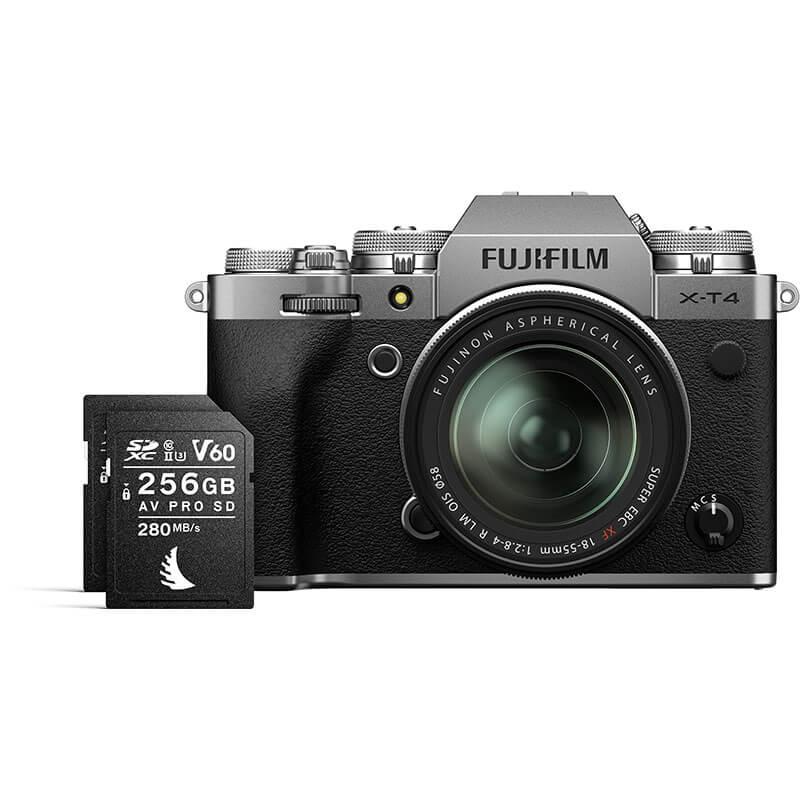Angelbird Match Pack for Fujifilm X-T3 | X-T4 256GB V60
