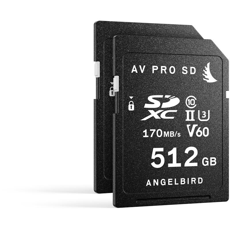 Angelbird AV Pro SD MK2 512GB V60 | 2 Pack
