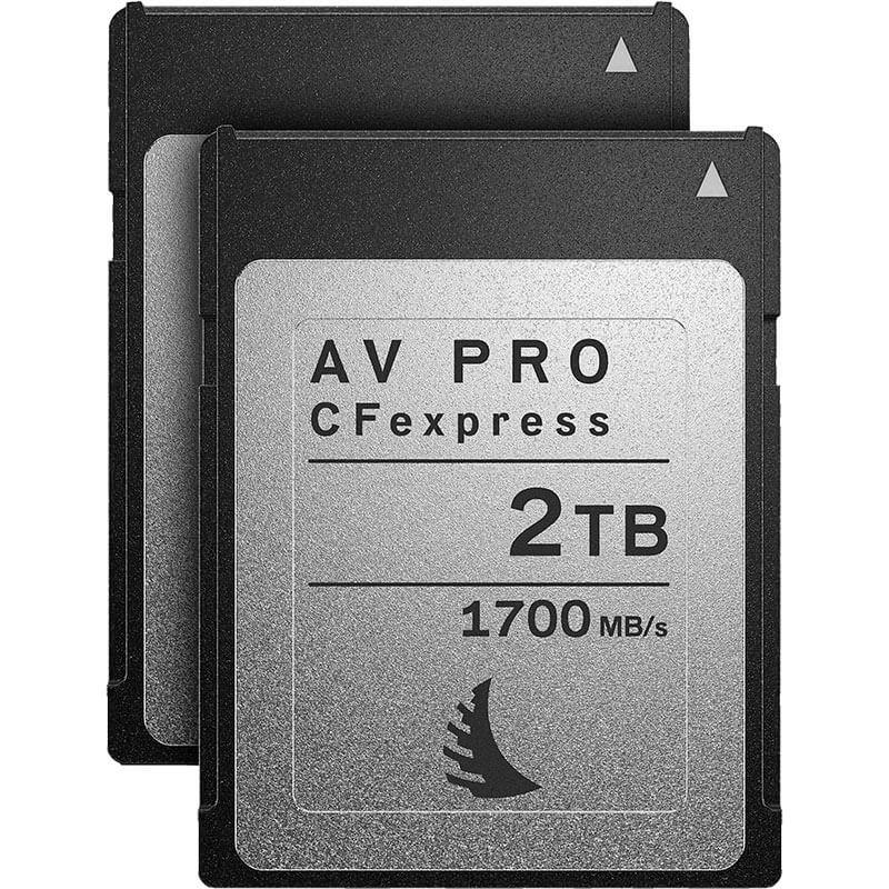 Angelbird AV Pro CFexpress 2TB | 2 Pack