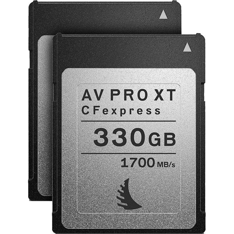 Angelbird AV Pro CFexpress XT 330GB | 2 Pack