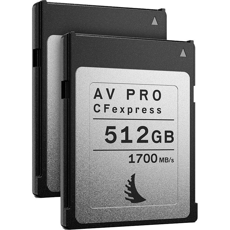 Angelbird AV Pro CFexpress 512GB | 2 Pack