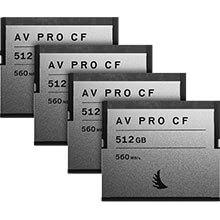 Angelbird AV Pro CF 512GB | 4 Pack