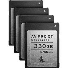 Angelbird AV Pro CFexpress XT 330GB | 4 Pack