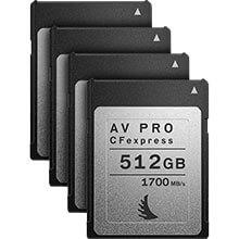 Angelbird AV Pro CFexpress 512GB | 4 Pack