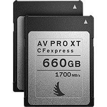 Angelbird AV Pro CFexpress XT 660GB | 2 Pack