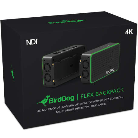 BirdDog Flex 4K Family - 100% Recyclable packaging