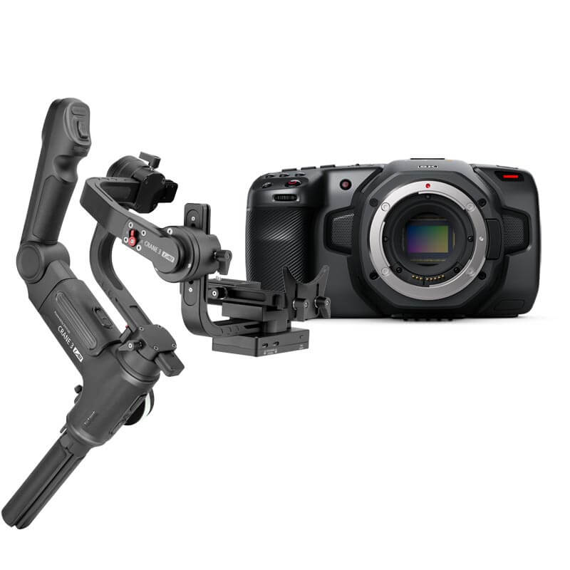 Blackmagic Design Pocket Cinema Camera 6K - Kit6