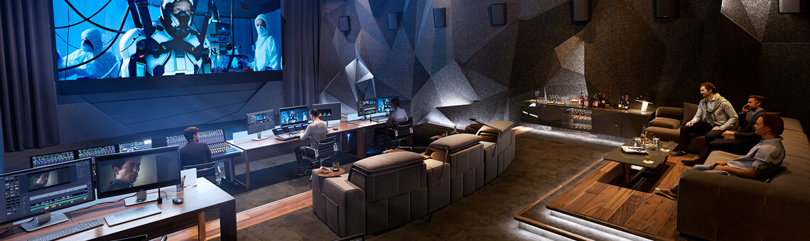 Blackmagic Design DaVinci Resolve Post Room