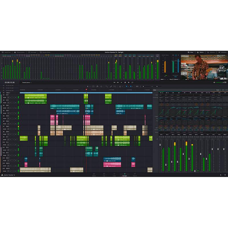 Blackmagic Design DaVinci Resolve Studio - Holdan Limited
