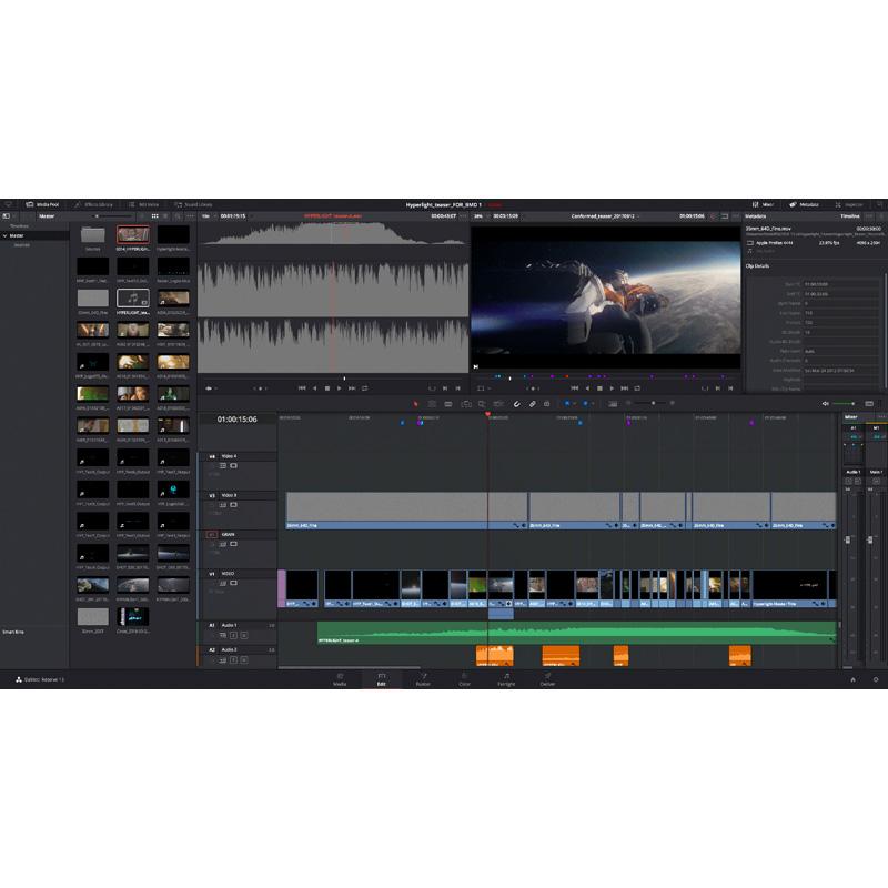 Blackmagic Design DaVinci Resolve Studio - v15 - Holdan Limited