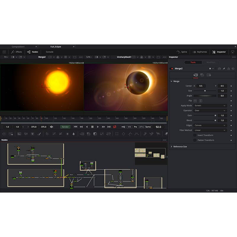 Blackmagic Design Fusion 16