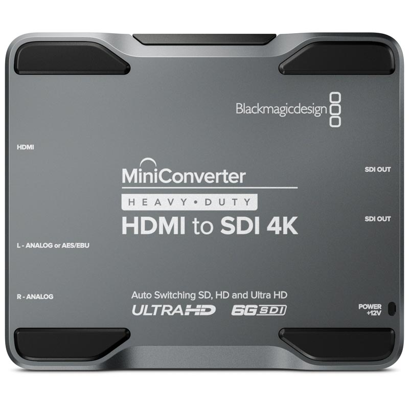 Blackmagic Design Mini Converter Heavy Duty Hdmi To Sdi 4k Holdan Limited