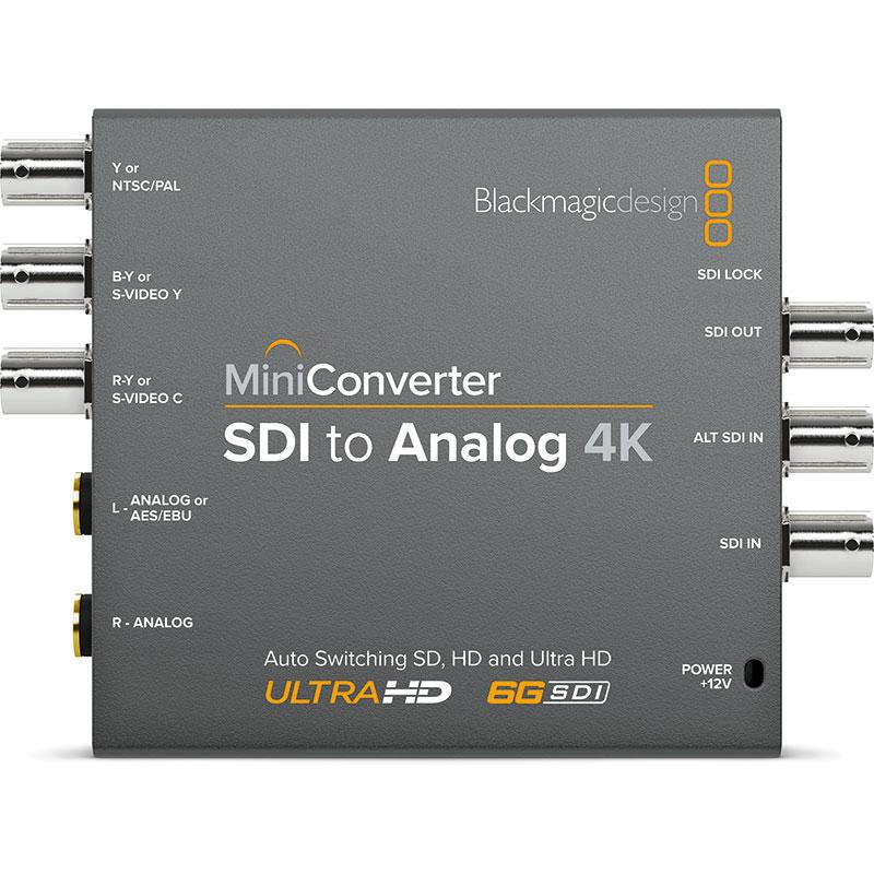 Blackmagic Design Mini Converter Sdi To Analog 4k Holdan Limited