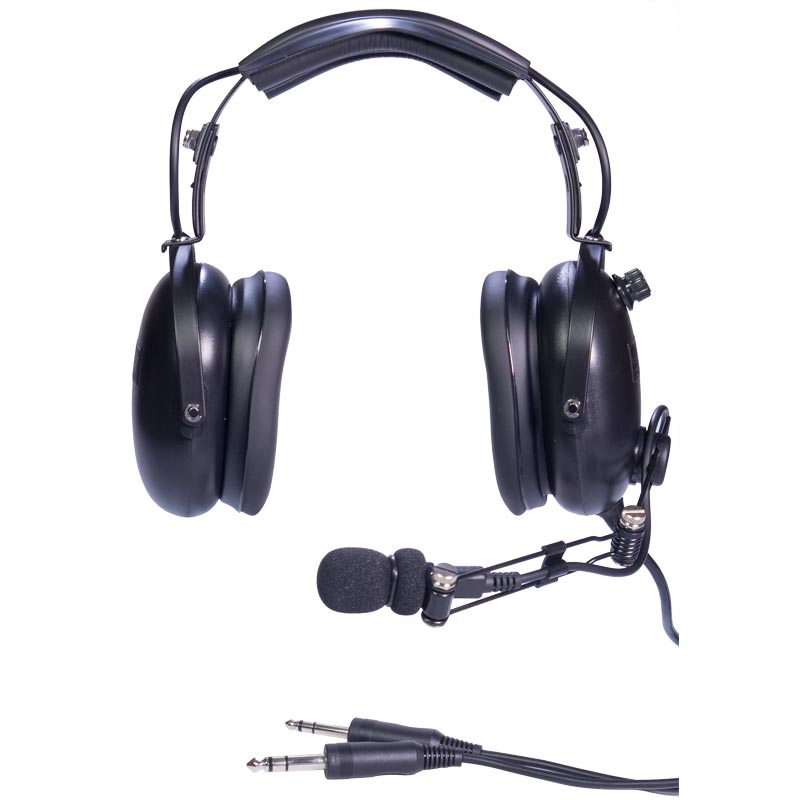 Aviation Style Noise Cancelling Headset