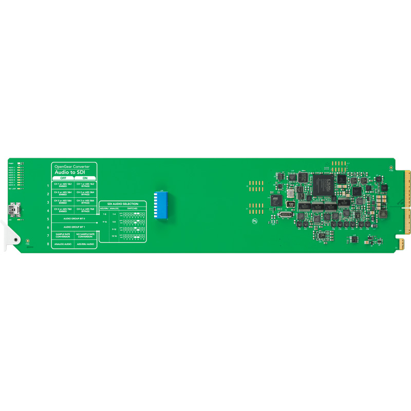 Blackmagic Design OpenGear Audio - SDI Card
