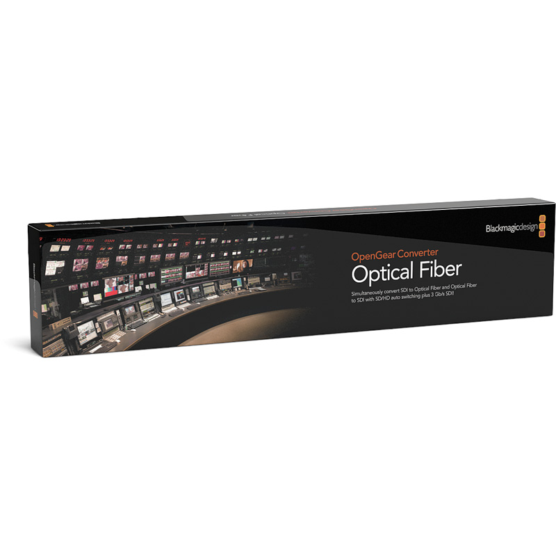 Blackmagic Design OpenGear Optical Fiber Card