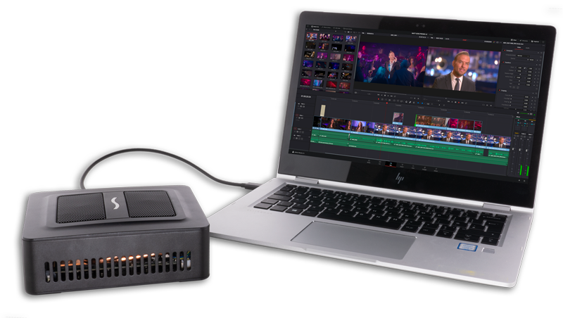 Blackmagic Design DaVinci Resolve with Sonnet Puck