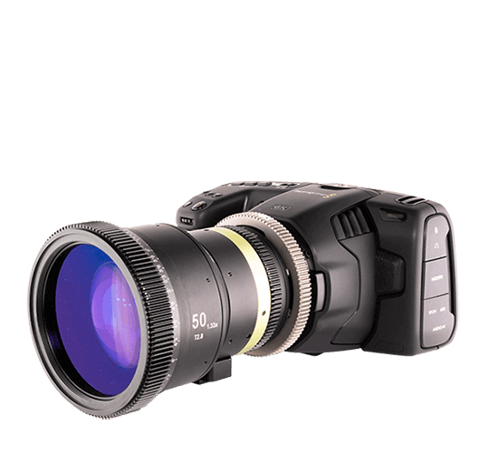 Blackmagic Design Pocket Cinema Camera 6K with Lenses
