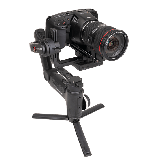 Blackmagic Design Pocket Cinema Camera 6K on Gimbal
