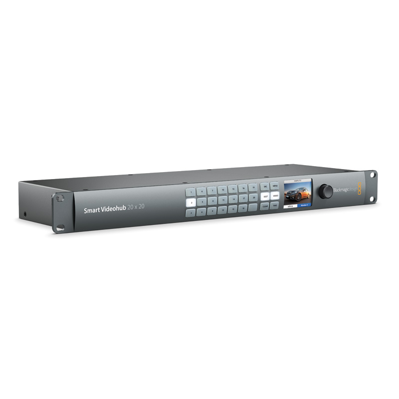 Blackmagic Design Smart Videohub 20 X 20 Holdan Limited