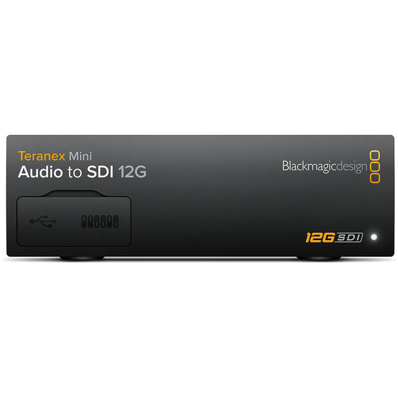 Blackmagic Design Teranex Mini - Audio to SDI 12G