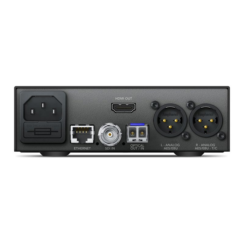 Blackmagic Design Teranex Mini - Optical to HDMI 12G