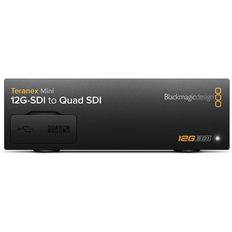 Blackmagic Design Teranex Mini - 12G-SDI to Quad SDI