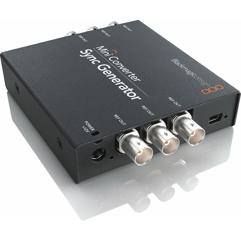 Blackmagic design mini converter sync generator holdan for Design home resources generator