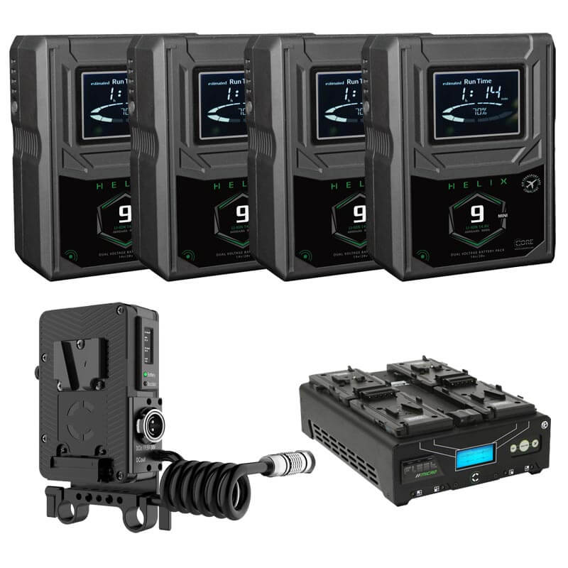 Core SWX 4x Helix 9S Charger Kit
