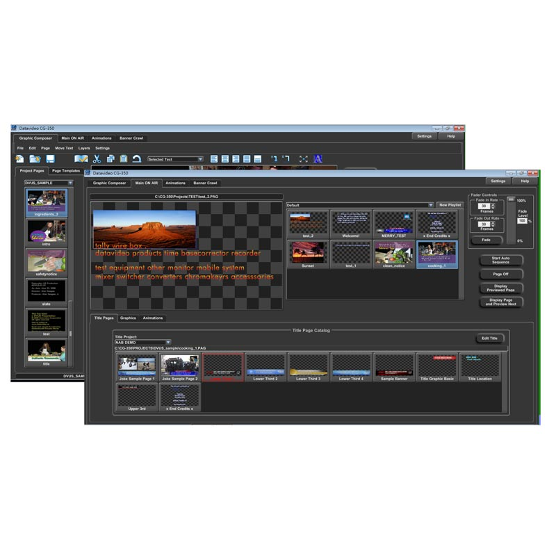 Datavideo TC-350