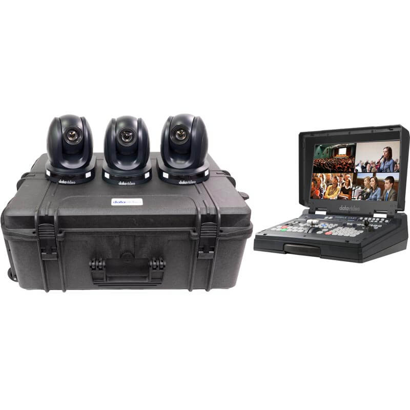 Datavideo PTC-140T - 3 Camera Kit with HS-1600T Mark II