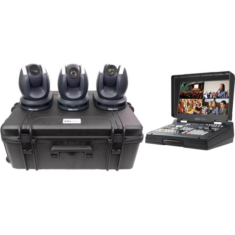 Datavideo PTC-150TL - 3 Camera Kit with HS-1600T Mark II