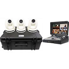 Datavideo PTC-150TLW - 3 Camera Kit with HS-1600T