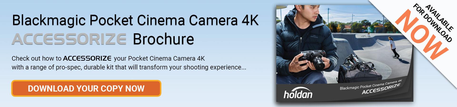 Blackmagic Pocket Cinema Camera Accessorize Brochure