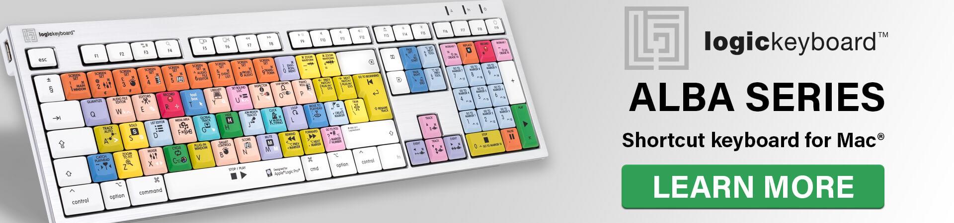 Logickeyboard Alba Series
