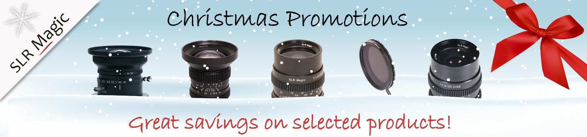 SLR Magic Christmas Promotion