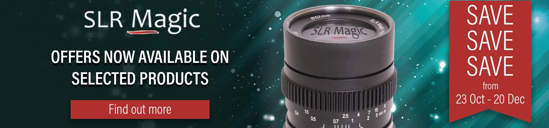 SLR Magic Promotion - Offer Ends 20th December