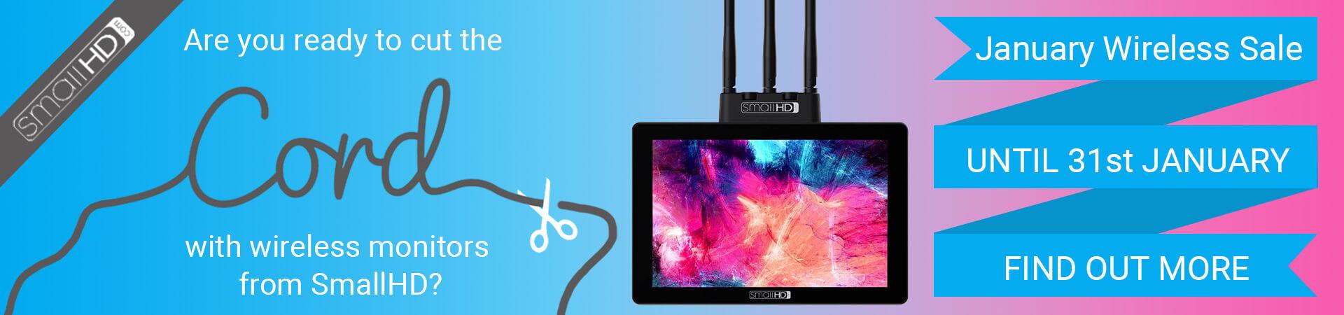 SmallHD January Wireless Sale