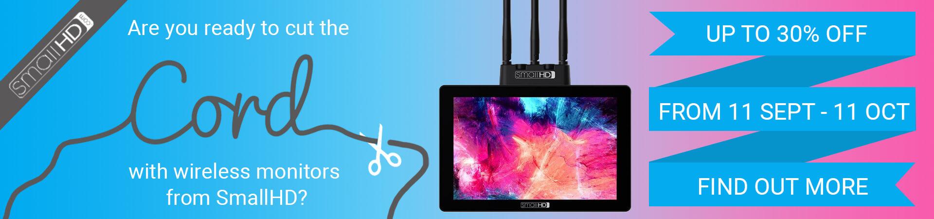 SmallHD Wireless Monitor Promotion