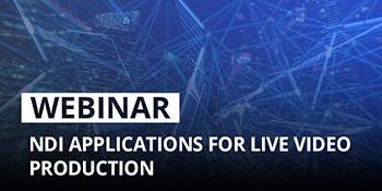 Epiphan Webinar: NDI applications for live video production