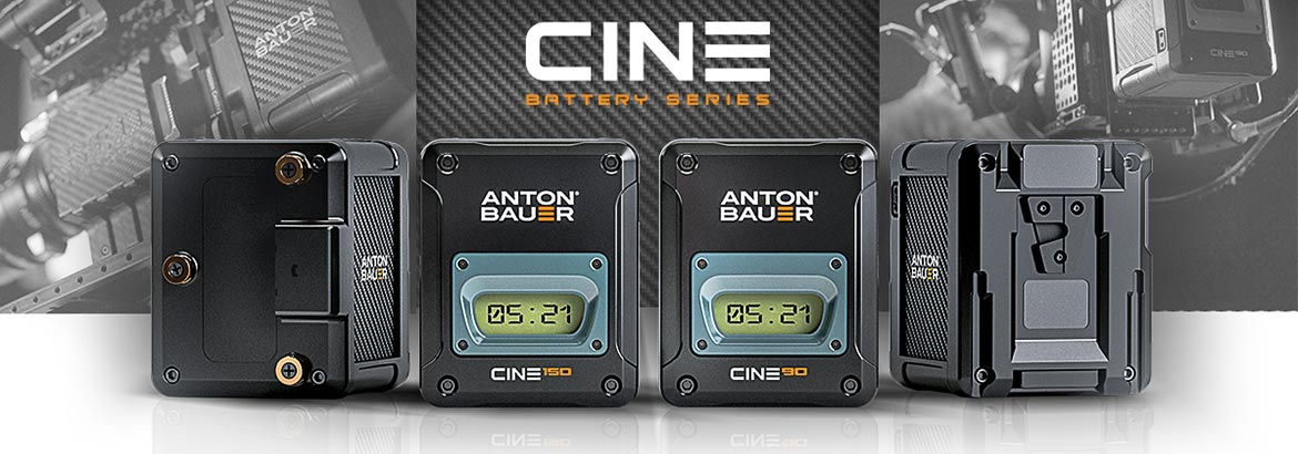 Cine Batteries from Anton Bauer