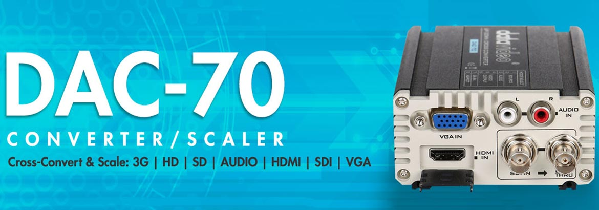 DAC-70 Converter and Scaler