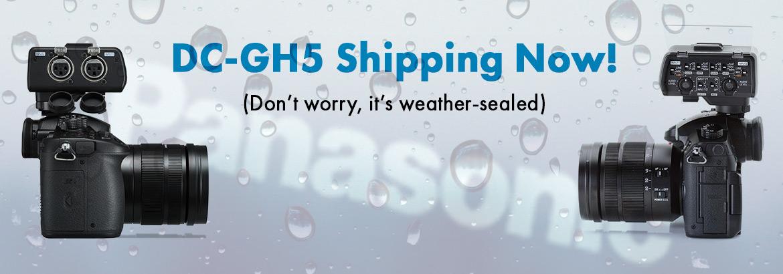 Panasonic DC-GH5 Now Shipping!