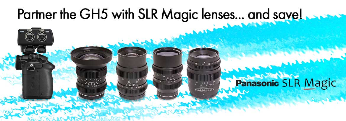 Great GH5 offers with SLR Magic