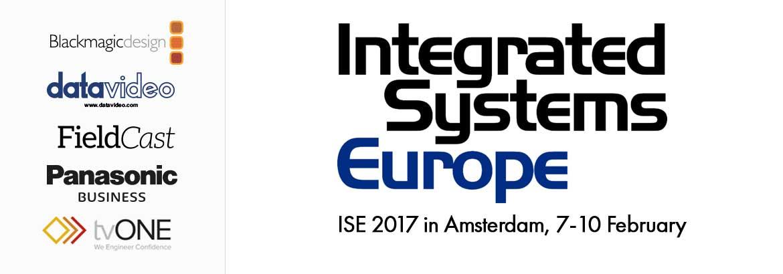 Integrated Systems Europe 2017 - RAI Amsterdam